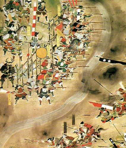 長篠の合戦図